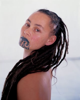 "Lauren (Piata) Heenan: ""My moko is the moko of a woman proud to be a wahine."