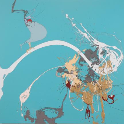 Painting by Heide Trepanier